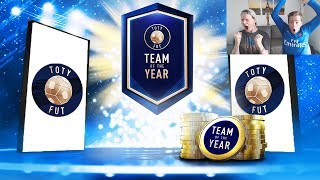 OMG NEW PRIME ICON + INCREDIBLE PACK LUCK!! 😱- TOTY SBC PACKS! FIFA 19 PACK OPENING