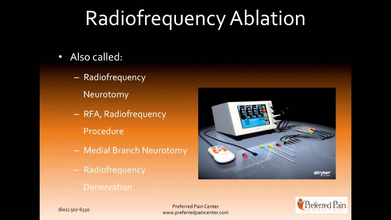 Spinal Pain Radio Frequency Neurotomy In Hindi
