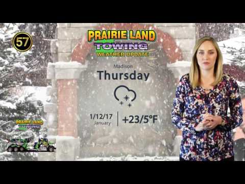 January 10, 2017 | Prairie Land Towing Weather Update
