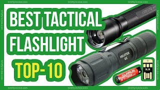 Best tactical flashlights 2018 - 10 Most powerful tactical flashlight review
