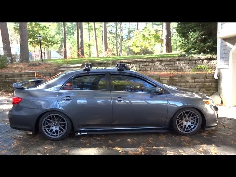 i got new wheels for my car konig integram rims and rally armor mudflaps update