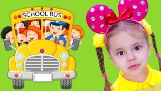 Wheels on the Bus Song for kids Risha Arisha