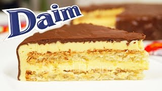 Шведский миндальный торт Daim. Торт из Икеа   Almondy Daim Cake