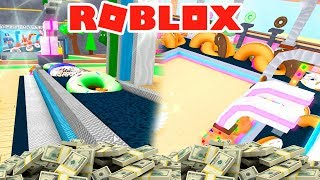 I GET $200,000 SELLING DONUTS IN ROBLOX 😂