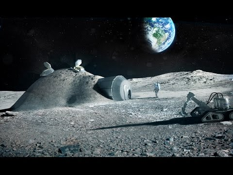 Moon airplane discovered