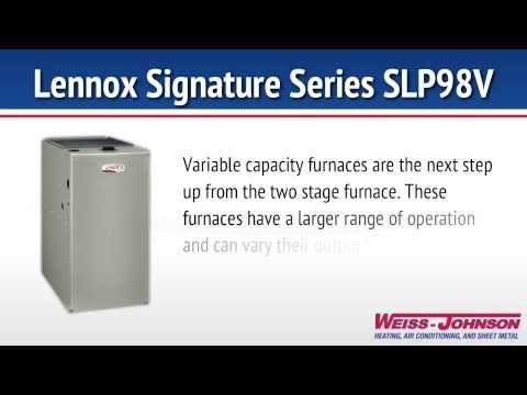 Lennox Signature Series SLP98V Furnace