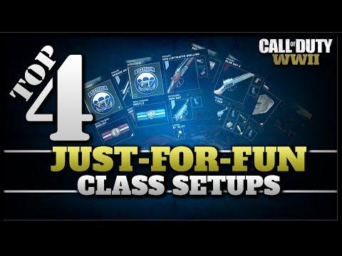 Top 4 Just-For-Fun Class Setups in CoD WW2!