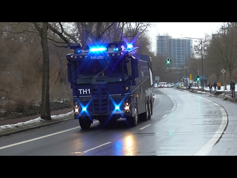 Polizei Großeinsatz | SG Dynamo Dresden - 1. FC Union Berlin