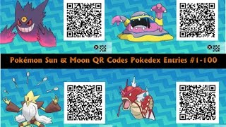 how to get any pokemon qr codes