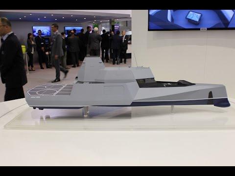 DCNS XWind 4000 innovative concept ship unveiled at Euronaval 2014
