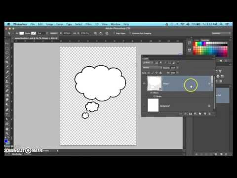 Speech Bubbles In Photoshop