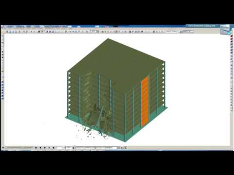 RC Structure Progressive Collapse - Two Column Removal