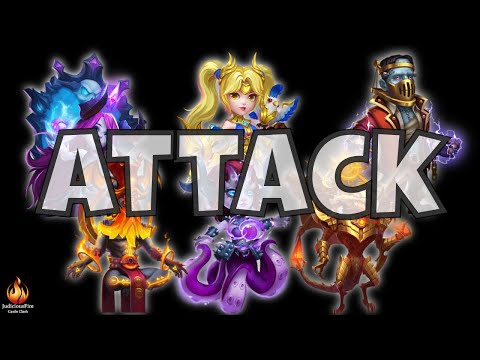Castle Clash Attack Strategy Heroes Team Setup