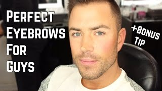HOW TO GET PERFECT EYEBROWS | SkinCareWithRoss