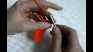 learn how to crochet a triple and half double crochet 3