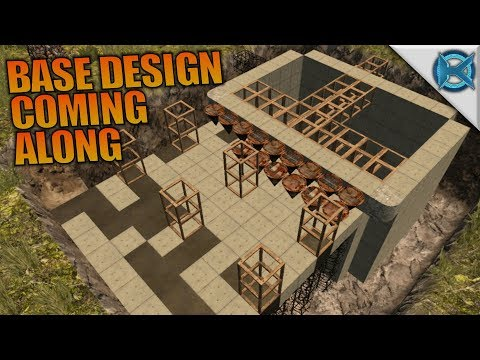 BASE DESIGN COMING ALONG | 7 Days to Die | Let's Play Gameplay Alpha 16 | S16.4E21