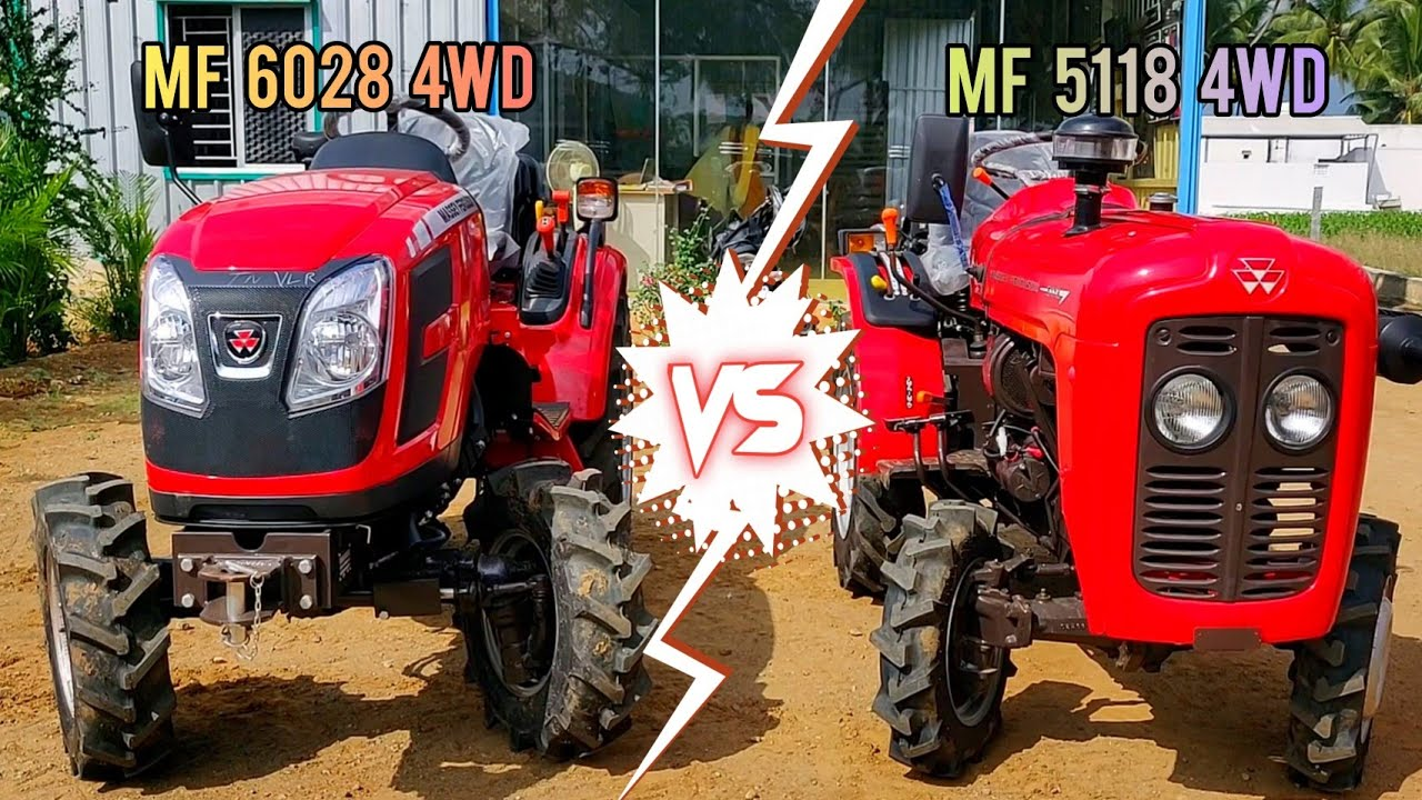 Massey Ferguson 5118 18hp 4wd mini Tractor Full review | Price mileage and features | Part - 1