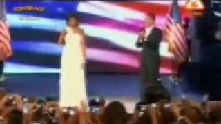 Barak Obama speaks in punjabi... funny punjabi U.S Amthem