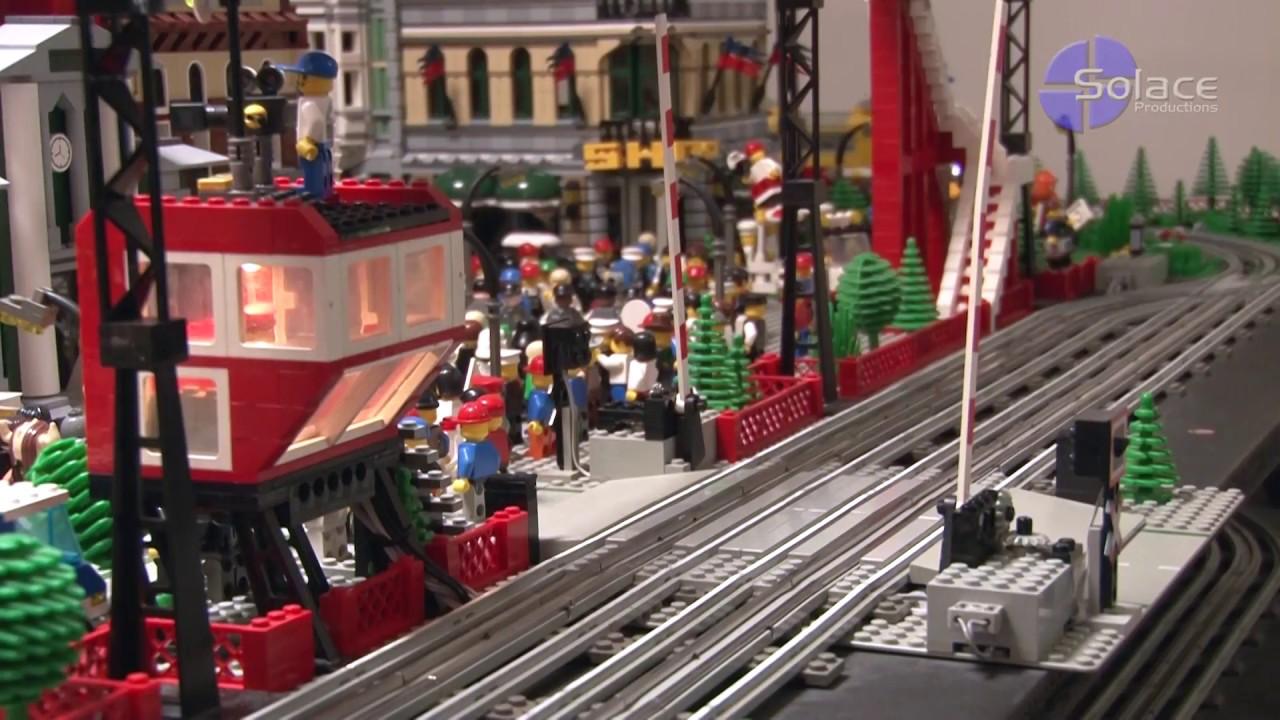 Toll Booth Gate 7936 Railroad Garage Lego Train Crossing