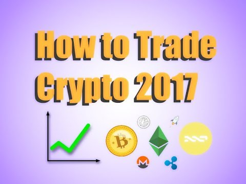 How to Trade Cryptocurrency for Noobs (Beginners) 2018