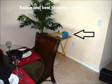 Naples Radon testing