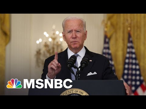 Biden Defiant On Afghanistan Withdrawal In Face Of Criticism