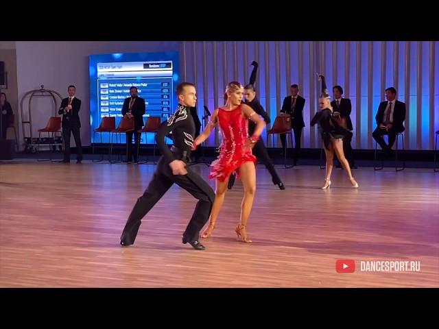 Kirill Kurbatov - Alexandra Revel-Muroz RUS, Cha-Cha-Cha / DanceSport Cup, Benidorm