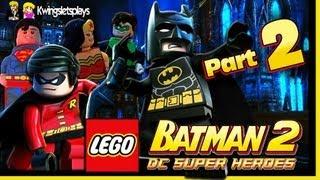 Lego Batman 2 - Walkthrough Wii U Part 2 Harbouring a Joker