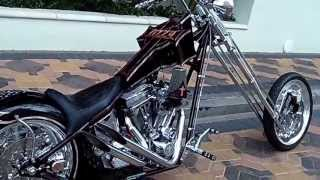 2005 counts customs chopper-  OZZY OSBOURNE BIKE!!! At Celebrity Cars Las Vegas
