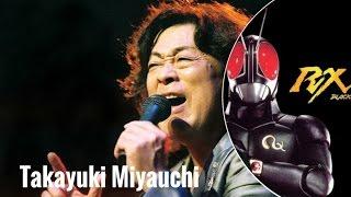 Download Takayuki Miyauchi - Penyanyi Ksatria Baja Hitam RX (Rider Series 1987)