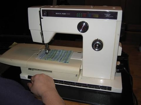 riccar stretch sewing machine