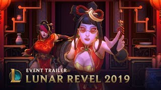 Fortune Favors the Lucky | Lunar Revel 2019 Skins Trailer - League of Legends