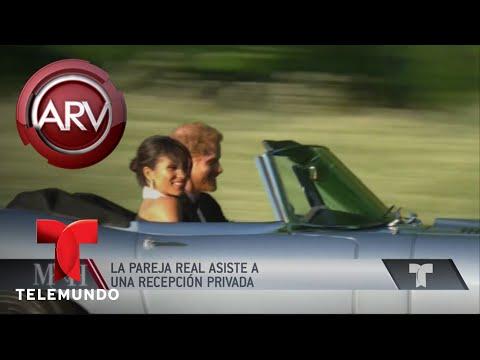 El príncipe Harry manejó su Jaguar hasta la recepción   Al Rojo Vivo   Telemundo