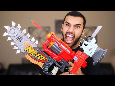 NERF MOST DANGEROUS MELEE MOD OF ALL TIME!!! (EXTREME NERF MOD!!)