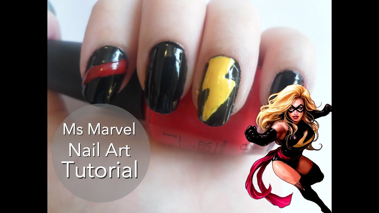 Cool Home Remedy For Fungus Nails Thick Chanel Rose Moire Nail Polish Square Simple Nail Art Pen Designs Sally Hansen Nail Polish Set Old Thumb Nail Fungus Pictures YellowMost Popular Nail Polish Colors Marvel; Ms Marvel Nail Art Tutorial   YouTube