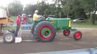 my oliver 77 winning the 7500lb class in the fall 2013 montgomery ny pull