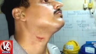 CCTV Footage | BJP MP Ananth Kumar Hegde Manhandles Hospital Staff | Karnataka | V6 News