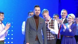 Телевизионная Международная Лига КВН. Анонс второй 1/8 финала 2018 (телеканал СТВ)