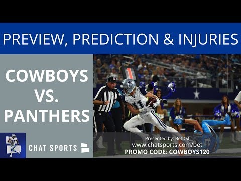 Cowboys Vs. Panthers: Preview, Prediction, Depth Chart, Injury Report And Matchup To Watch