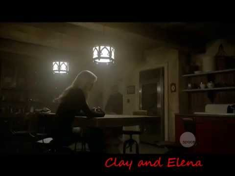 Bitten 1x12 Clay and Elena after Jeremy confesses