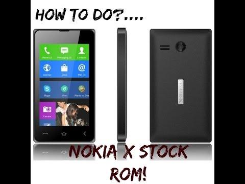Nokia x stock rom