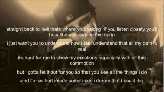 Cutters Lullaby - MG (On screen Lyrics)
