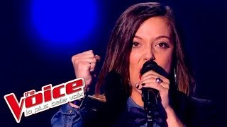 The Voice 2015│Camille Lellouche - Papaoutai (Stromae)│Blind Audition