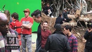 Chris Pratt On Set Of 'Avengers: Endgame'
