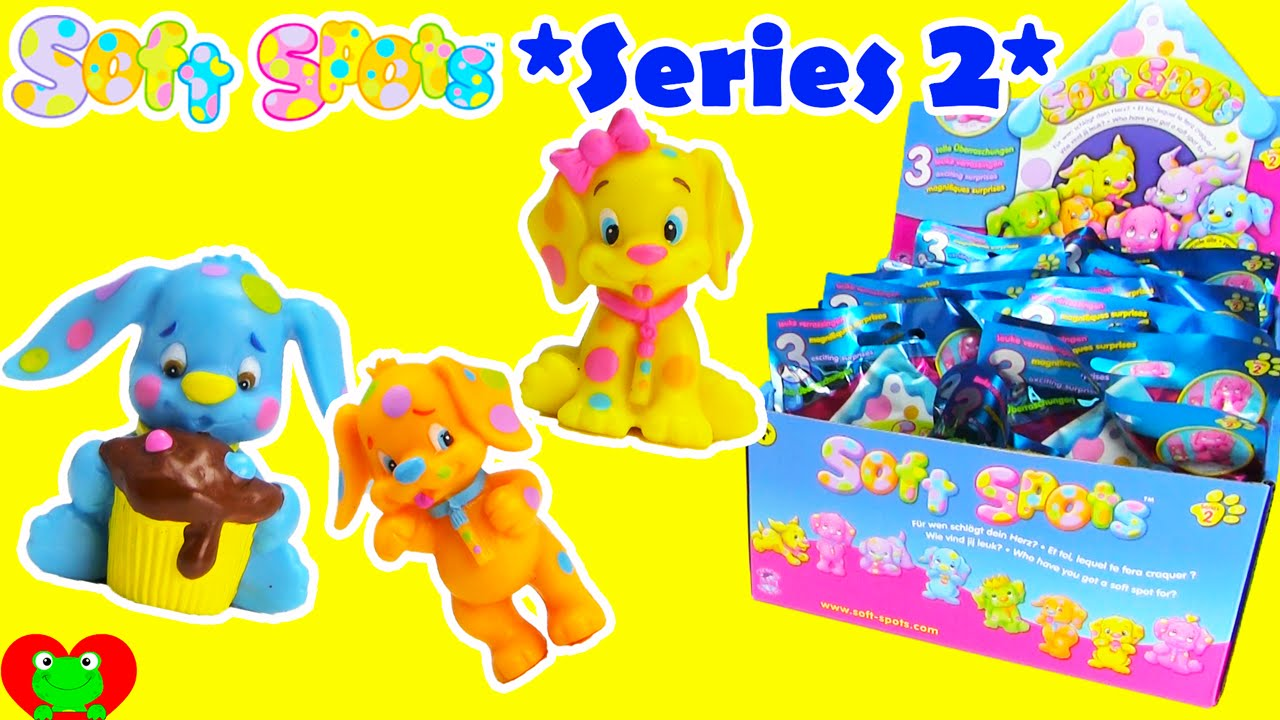 Smooshy Mushy Blind Bags Series 2 : Soft Spots SERIES 2 Blind Bags and Collectors Case - YouTube