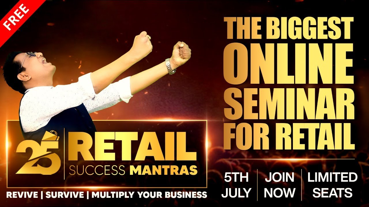 25 Retail Success Mantras | Free Online event | ONE PLUS TWO MAHAOFFER | Save 3 lakhs today