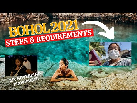 How To Travel To BOHOL This 2021 (+ ABANGAN: MY BOYFRIEND PROPOSED?!)