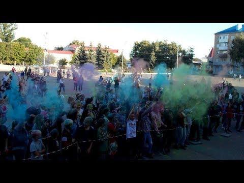 Фестиваль красок Петровск 2019