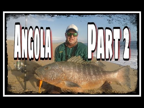 ZLF Catching Cubera Snappers! Fishing Angola Part 2.