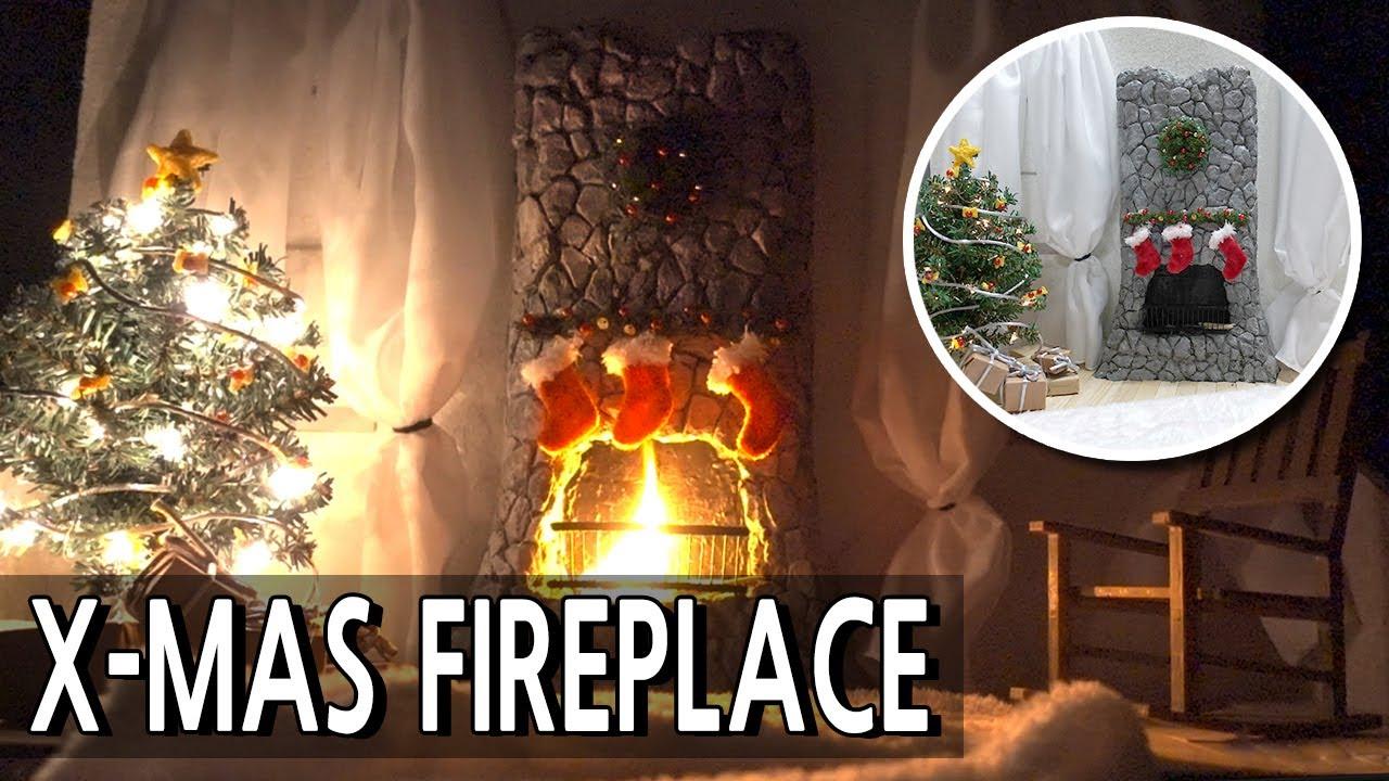 크리스마스 벽난로 만들기/BRICKLAYING mini/X-Mas Fireplace/miniature model